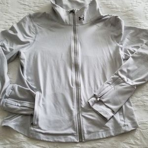 Womens Under Armour Studio Line jacket,Large,zipup